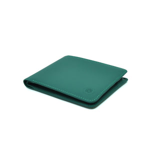 Taku_and_Grace_Leather_Wallet_Haru_Bifold_Evergreen_side_veiw