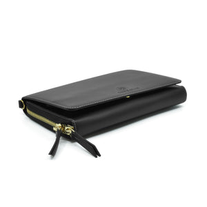Taku_and_Grace_Leather_Convertible_clutch_bag_black_side_view