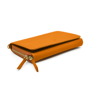 Taku_and_Grace_Leather_Convertible_clutch_bag_luggage_side_view