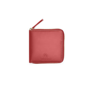 Taku_and_Grace_Leather_Zip_Wallet_Miyake_oxblood_front_view