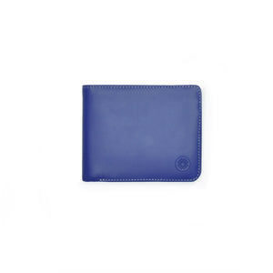 Taku_and_Grace_Leather_Wallet_Haru_Bifold_Blueprint_Navy_front_view