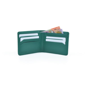 Taku_and_Grace_Leather_Wallet_Haru_Bifold_Evergreen_open_view