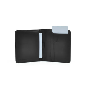 Taku_and_grace_leather_wallets_sato_card_slip_bifold_black_open_view