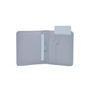 Taku_and_grace_leather_wallets_sato_card_slip_bifold_dawn_gray_open_view