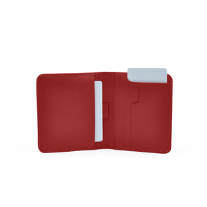 Taku_and_grace_leather_wallets_sato_card_slip_bifold_oxblood_open_view