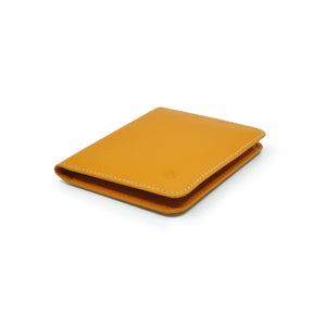Taku_and_grace_leather_wallets_sato_card_slip_bifold_luggage_side_view