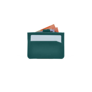 Taku_and_grace_leather_wallets_tae_card_slip_evergreen_back_filled