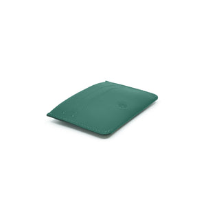 Taku_and_grace_leather_wallets_tae_card_slip_evergreen_front_side