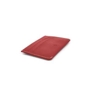 Taku_and_grace_leather_wallets_tae_card_slip_oxblood_front_side