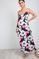 summer fashion, maxi dresses, women's fashion,online fashion, pink maxi dress