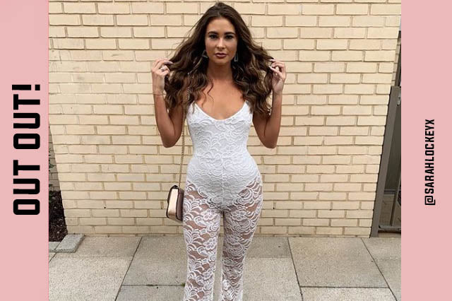 52342541c5432 CHEAP WOMEN'S FASHION ONLINE, LADIES GOING OUT CLOTHING, WHITE LACE  JUMPSUITS, DRESSES
