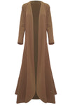 Saskia Long Sleeve Waterfall Maxi Cardigan