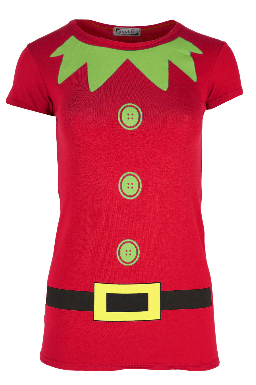 Christmas Elf Costume Short Sleeve Tshirt - bejealous-com