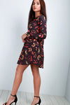 Long Sleeve Pumpkin Halloween Dress - bejealous-com