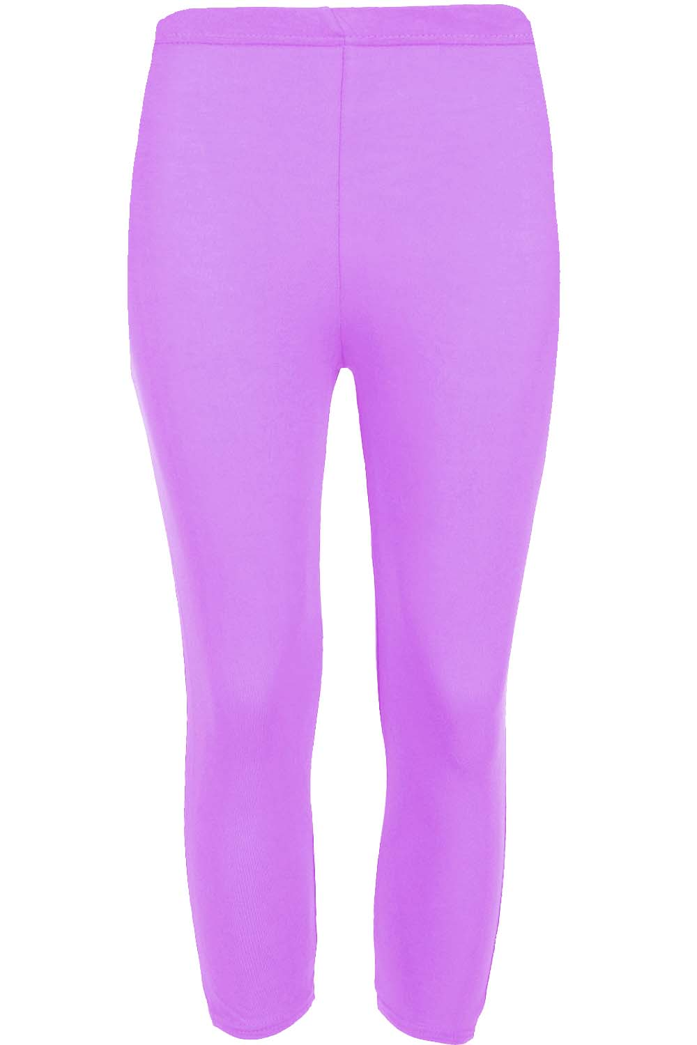 Mia 3/4 Length Plain Jersey Workout Leggings