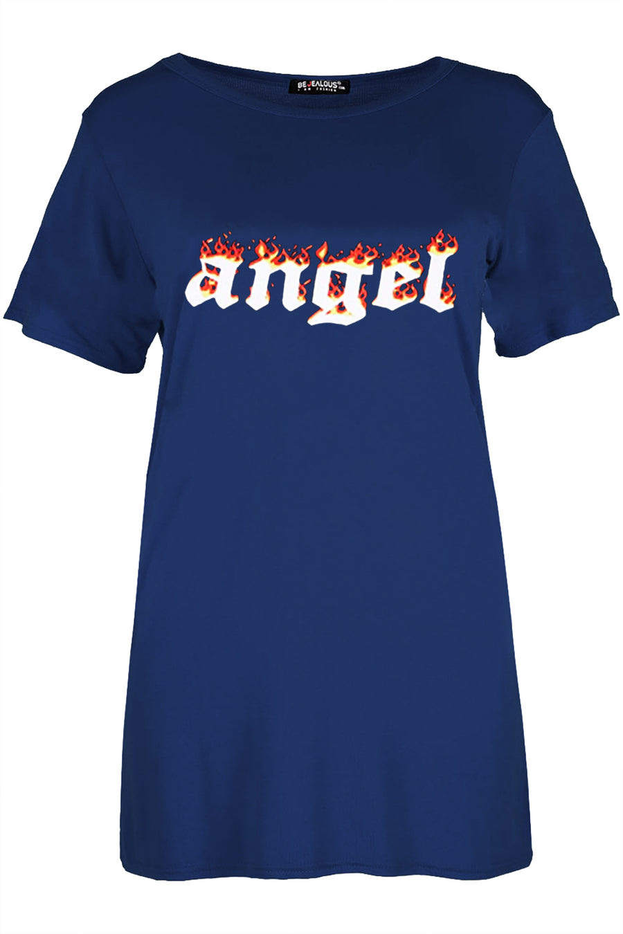 Aria Fire Angel Oversized Baggy T-Shirt