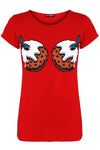 Christmas Puddings Graphic Print Tshirt - bejealous-com
