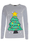 Scarlett Long Sleeve Christmas Print Tshirt