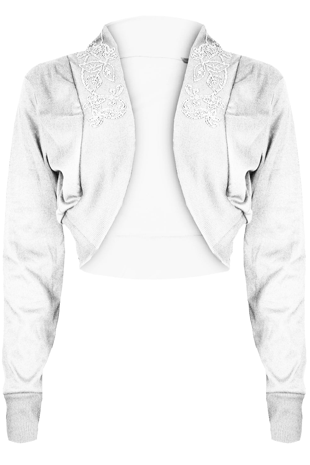 Aria Long Sleeve Shrug Cardigan Top