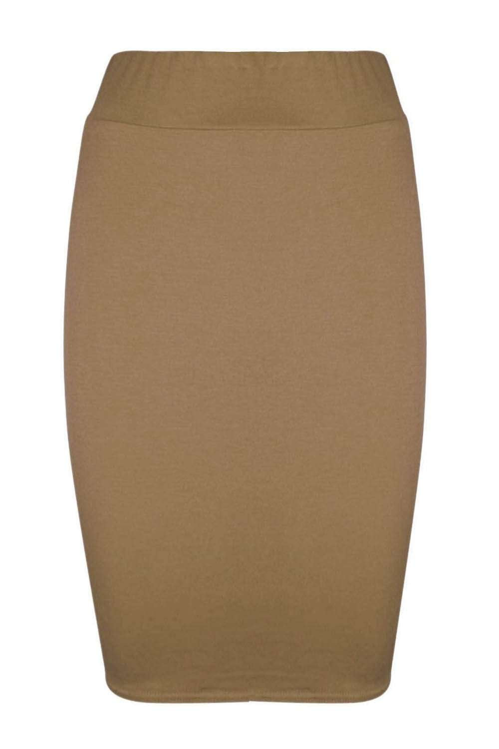 Hailsee High Waist Midi Pencil Skirt - bejealous-com
