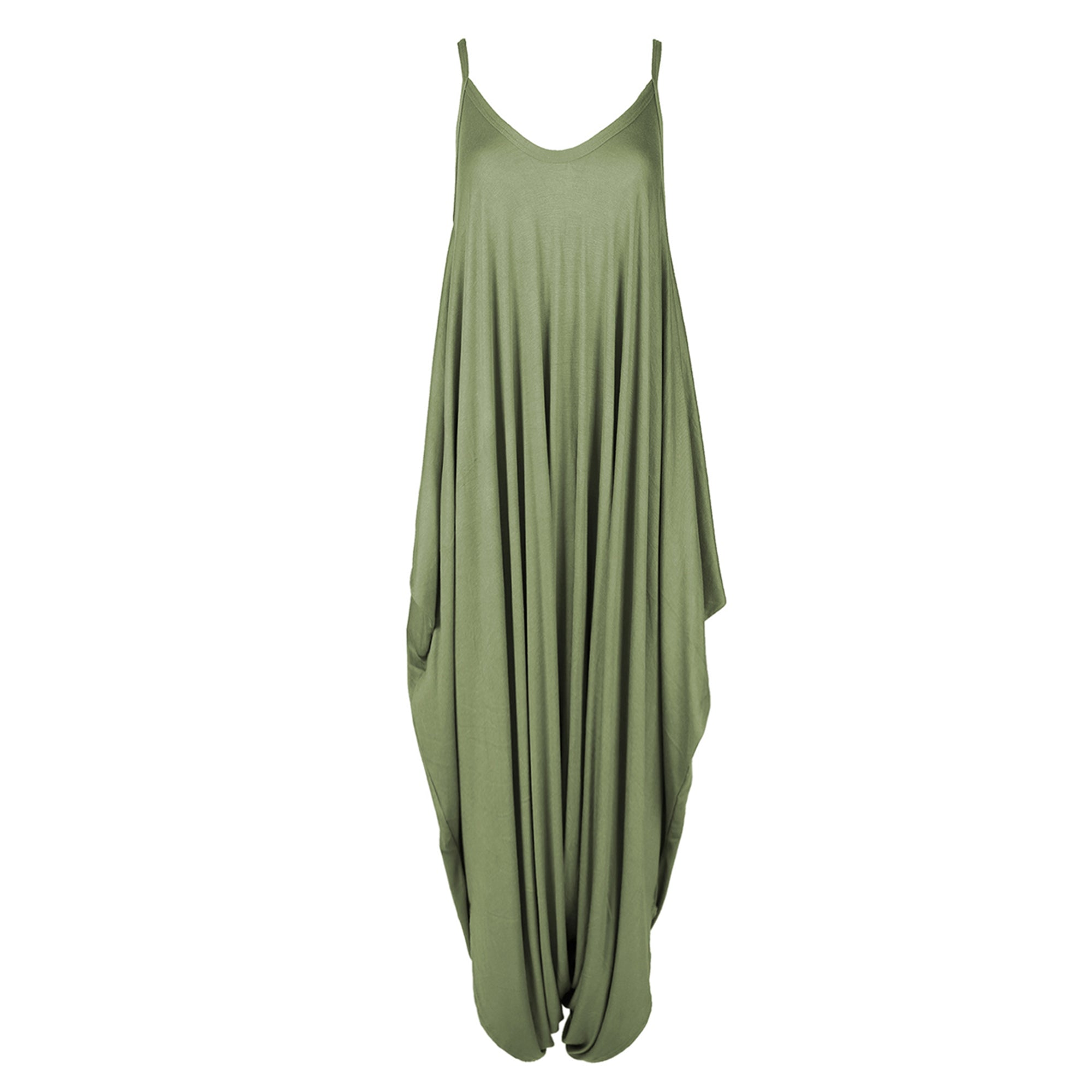 Ava Strappy Draped Harem Jumpsuit