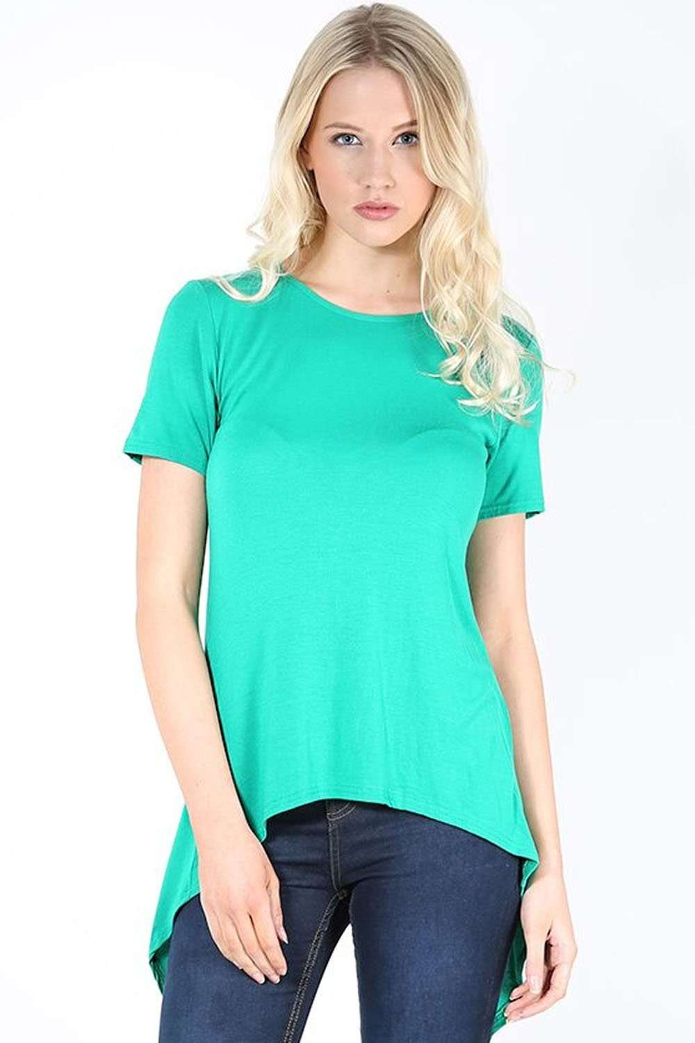 Alarna Open Back Short Sleeve Tshirt - bejealous-com