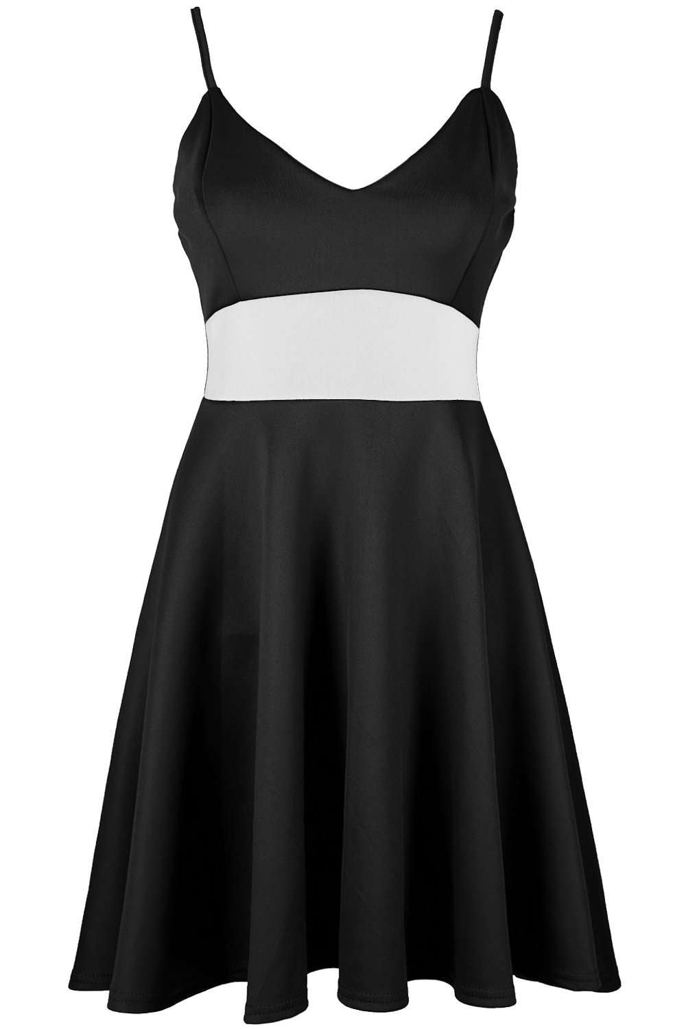 Brioni Strappy Paneled Midi Swing Dress - bejealous-com