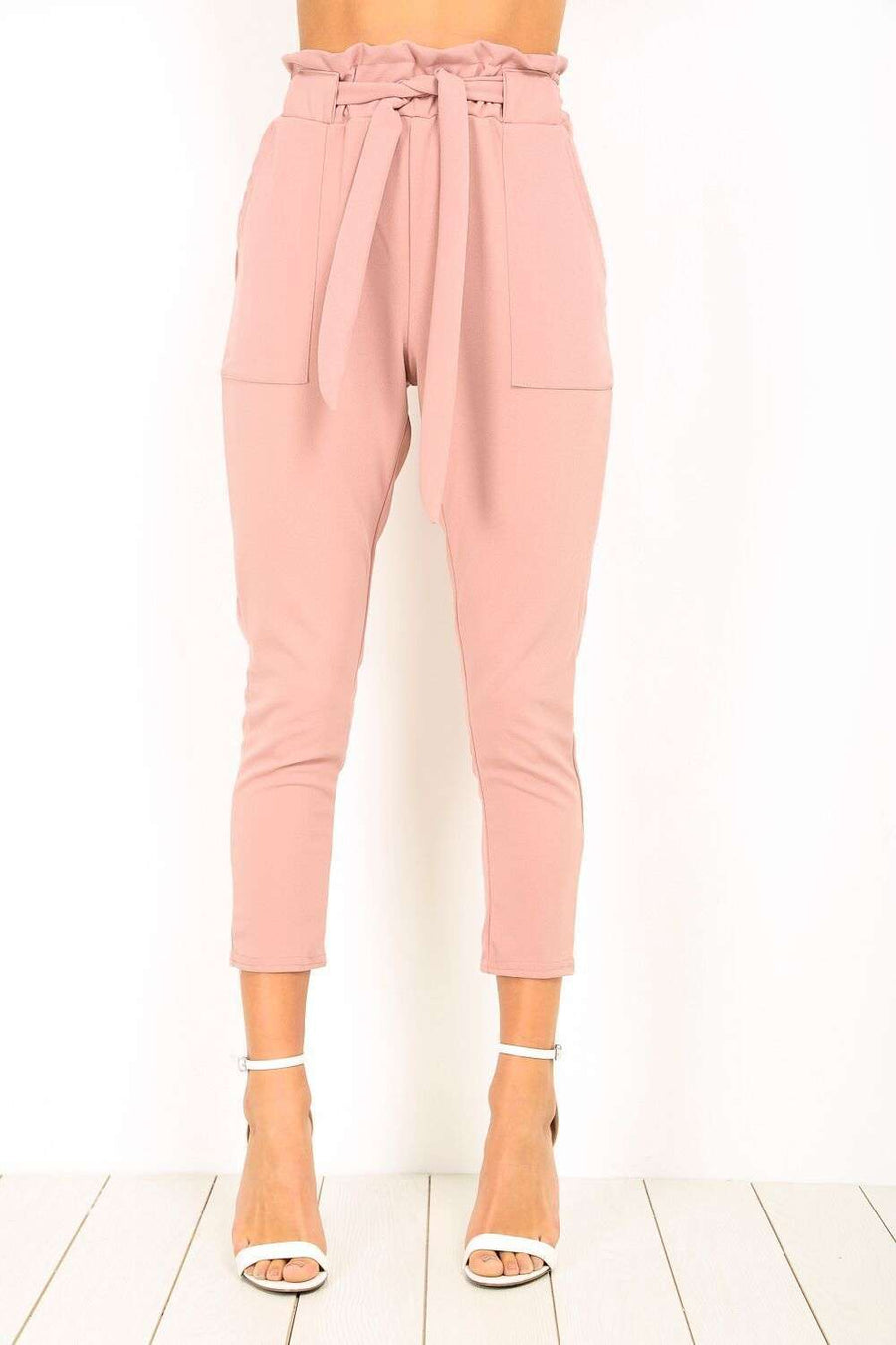 Elljay Paper Bag Trousers - bejealous-com