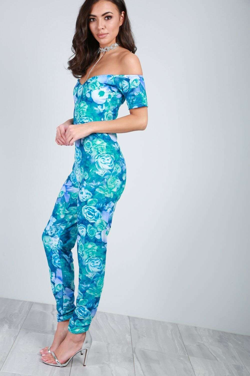 Harriett Floral Jumpsuit - bejealous-com