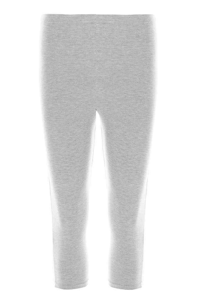 Izzie Basic Jersey Cropped Leggings - bejealous-com