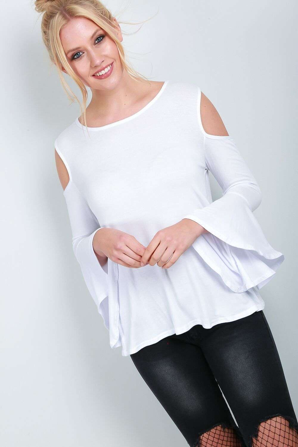 Jessica Cold Shoulder Top - bejealous-com