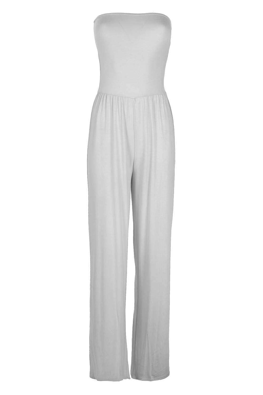 Kadie Off Shoulder Wide Leg Jumpsuit - bejealous-com