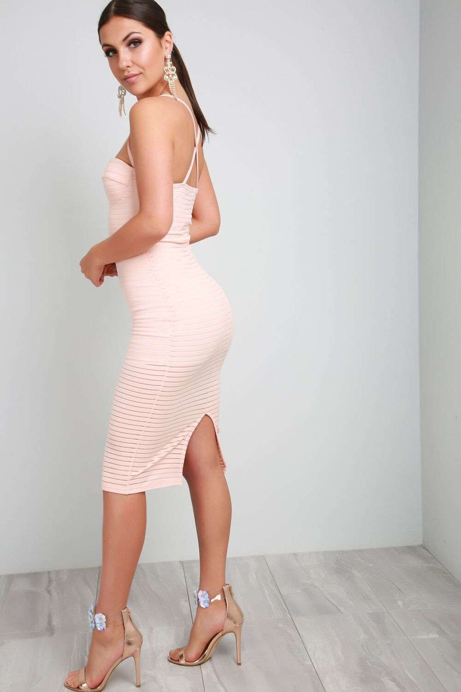 Khloe Racer Back Bodycon - bejealous-com