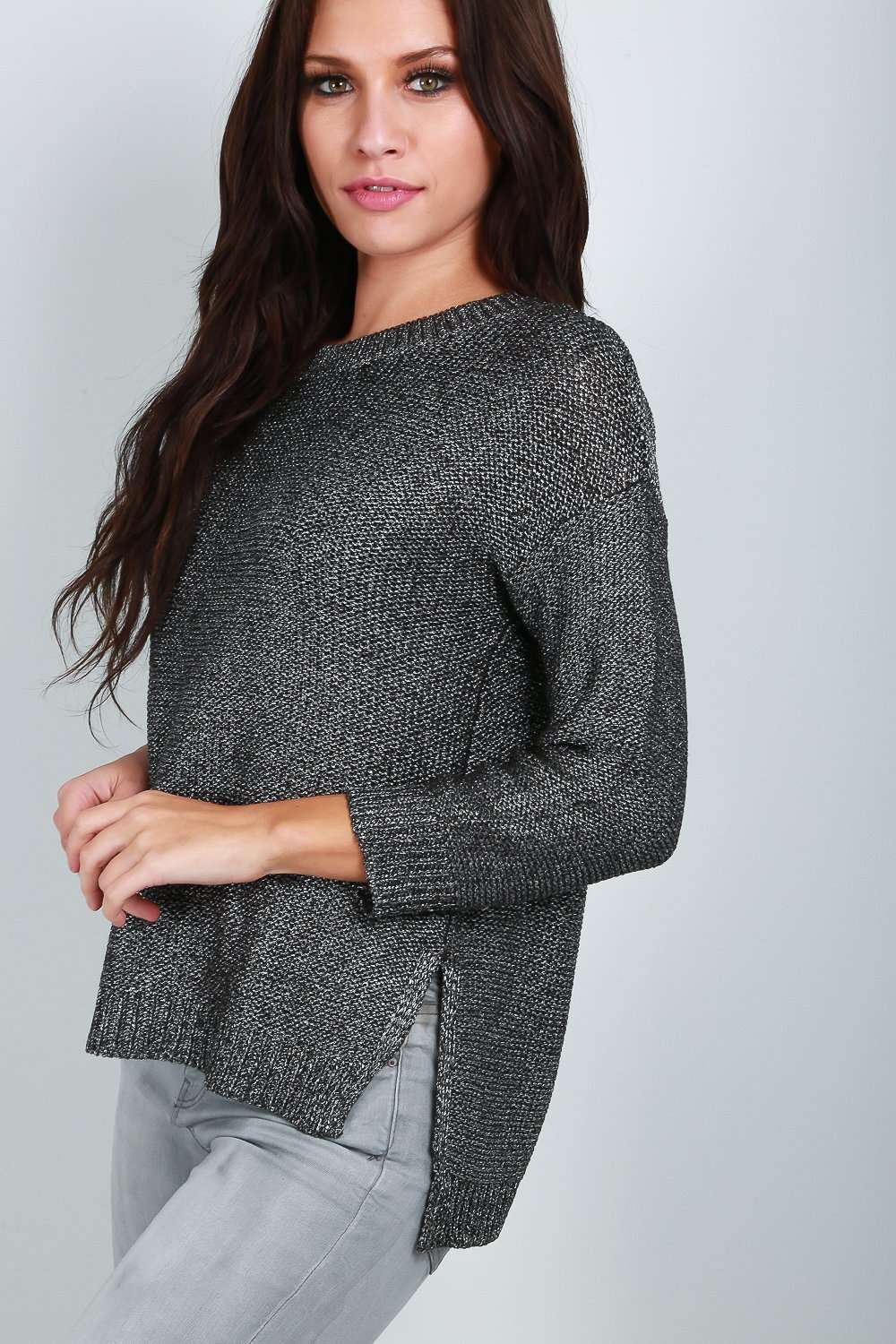 a9ea8eeccc808f Lara Long Sleeve Fine Knit Jumper | Jumpers & Sweaters