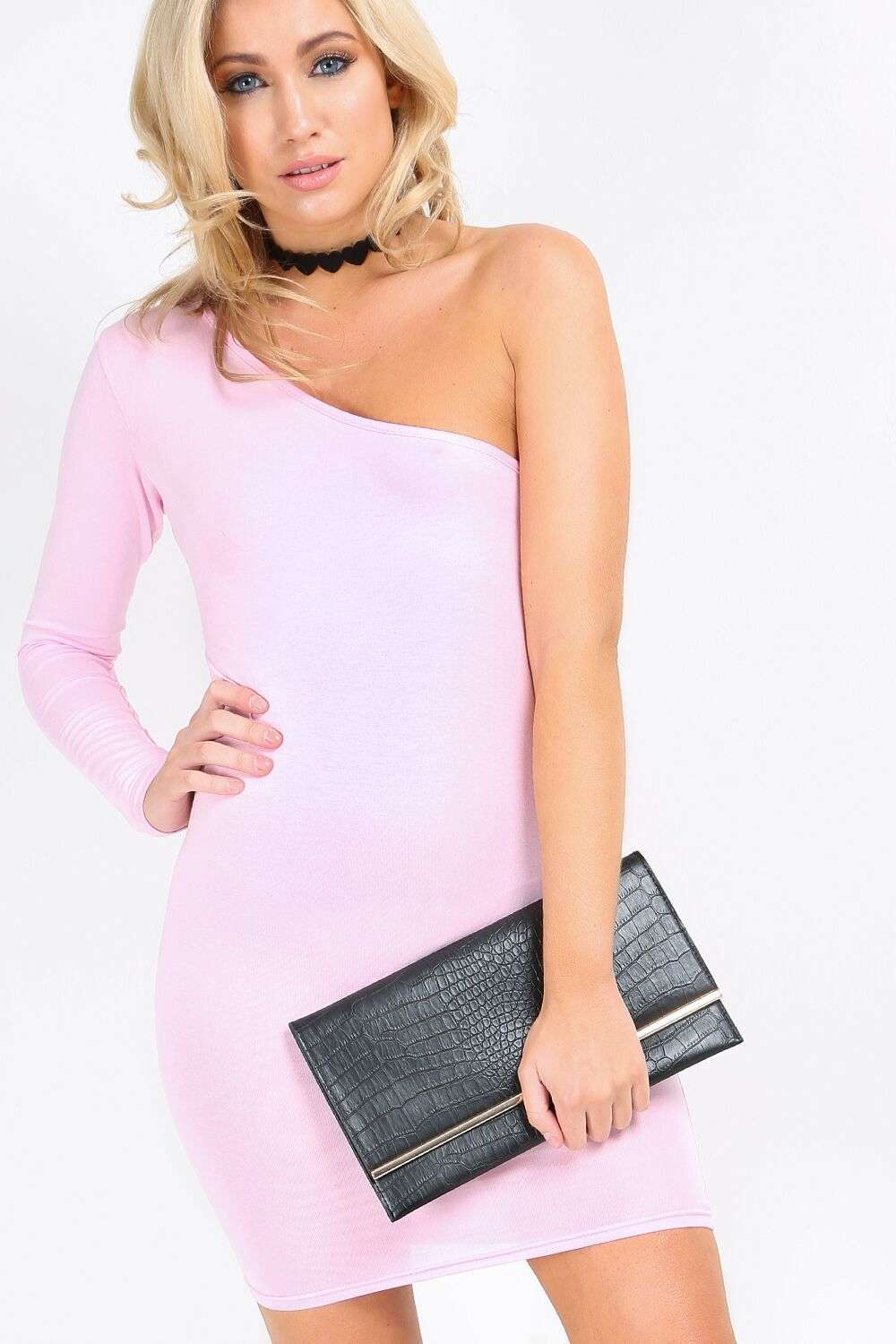 Larna One Shoulder Dress - bejealous-com