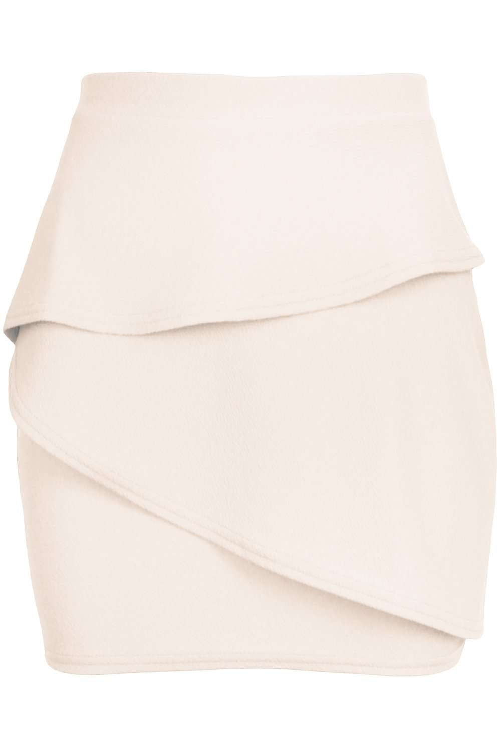 Marley High Waisted Tiered Frill Mini Skirt - bejealous-com