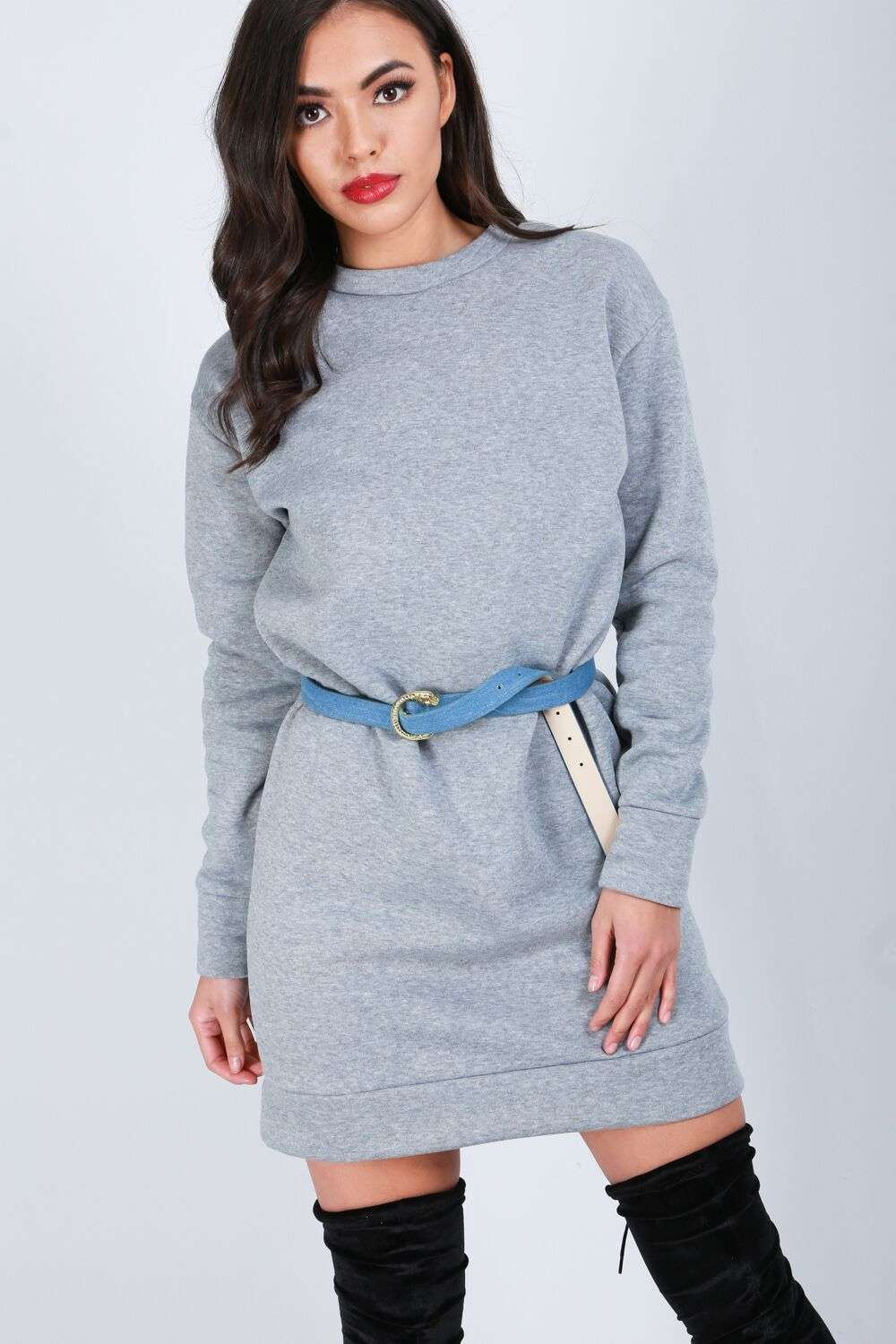 Maya Oversized Jumper Dress - bejealous-com