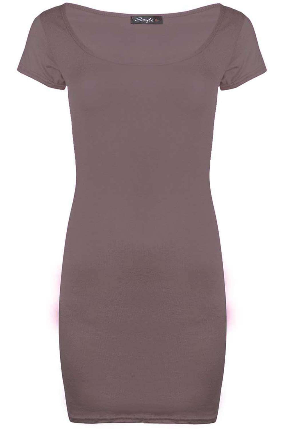 Melody Short Sleeve Mini Bodycon Dress - bejealous-com