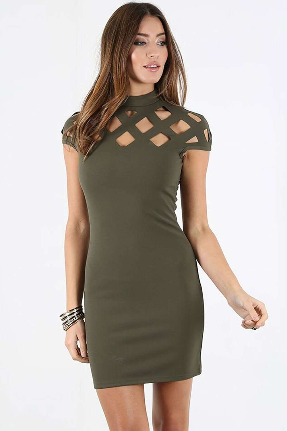 Merissa Caged Bodycon Mini Dress - bejealous-com
