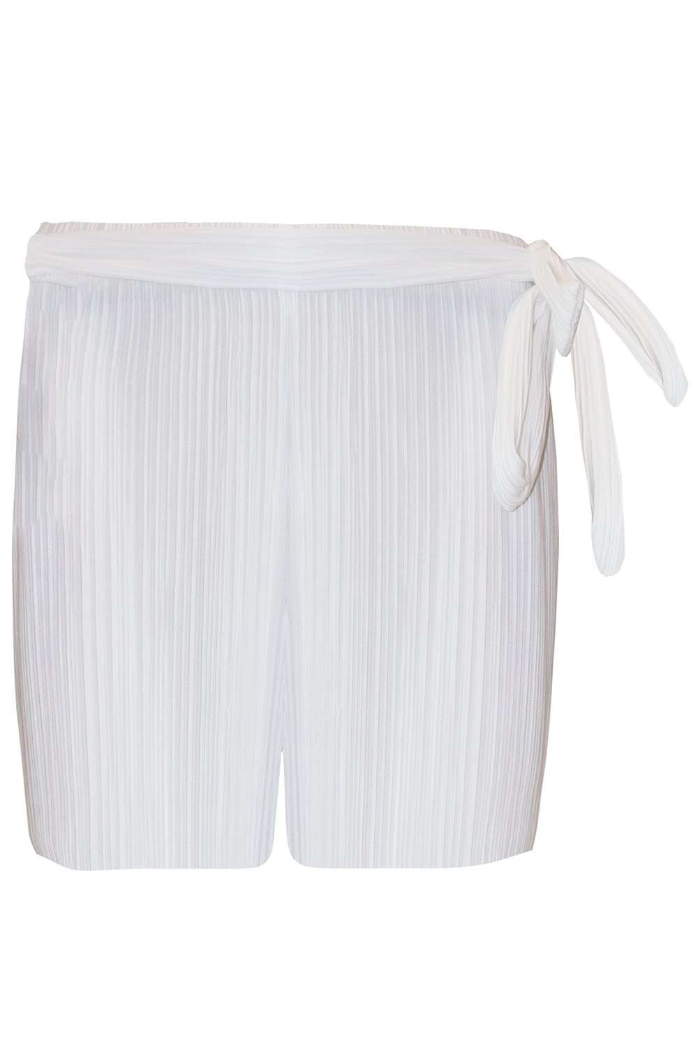 Nikki High Waisted Paper Bag Pleated Shorts - bejealous-com