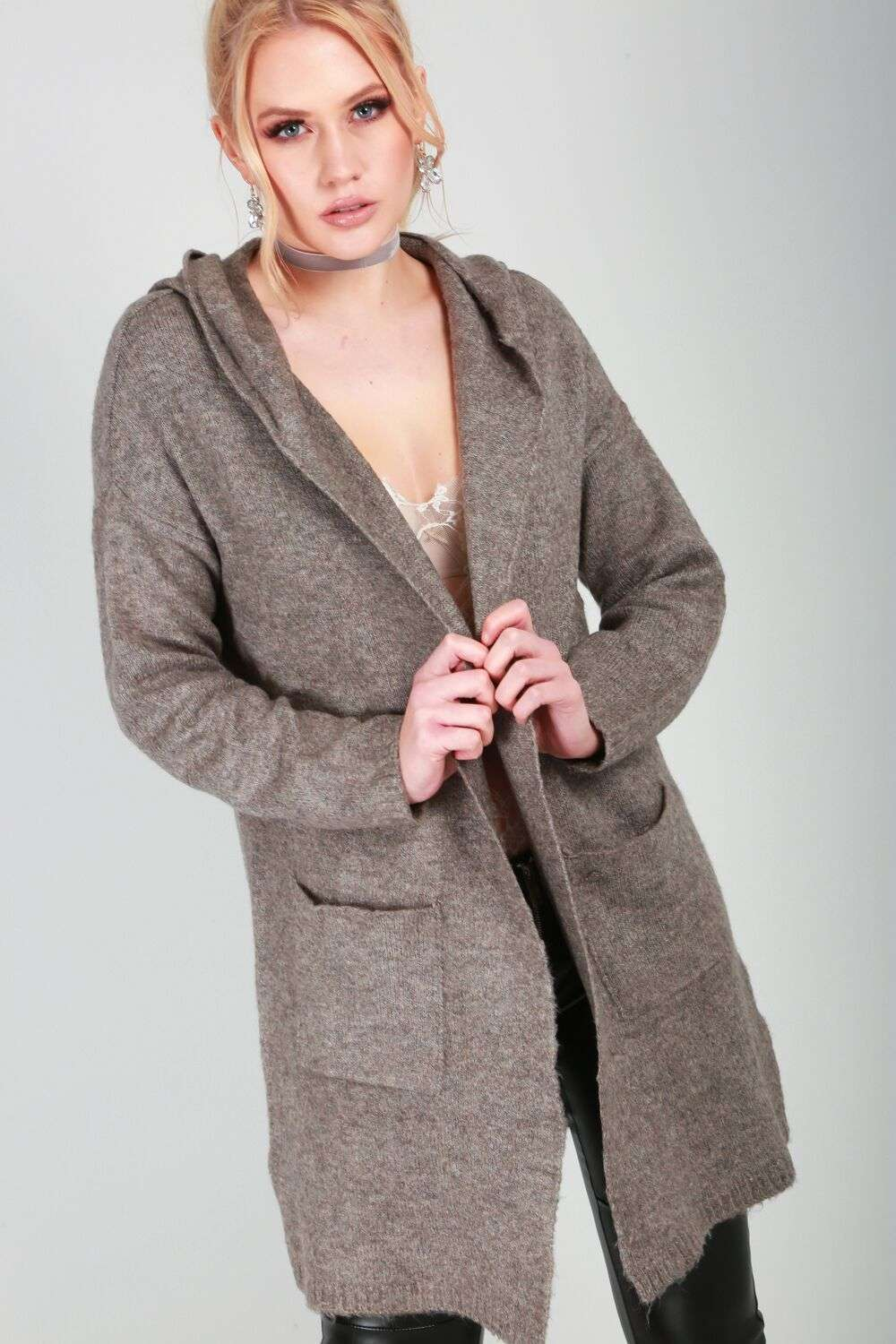 Olivia Hooded Cardigan - bejealous-com