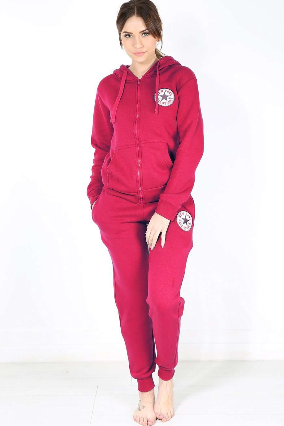 Paris All Star Lounge Wear Tracksuit - bejealous-com