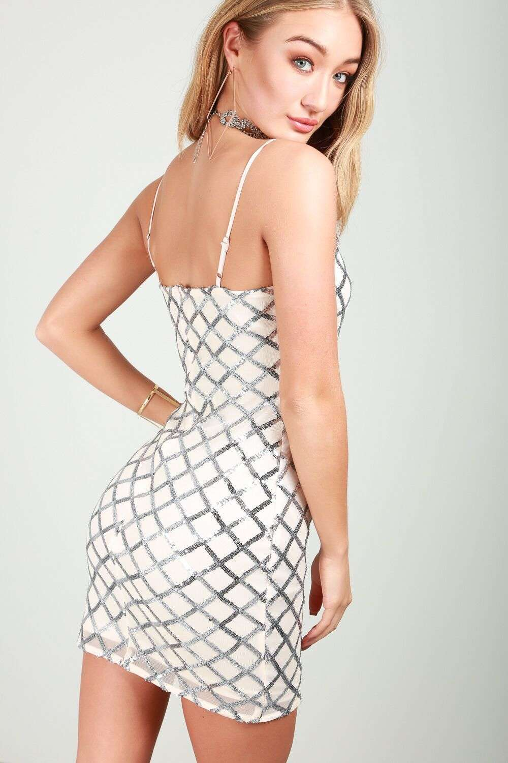 Paula Sequin Bodycon - bejealous-com