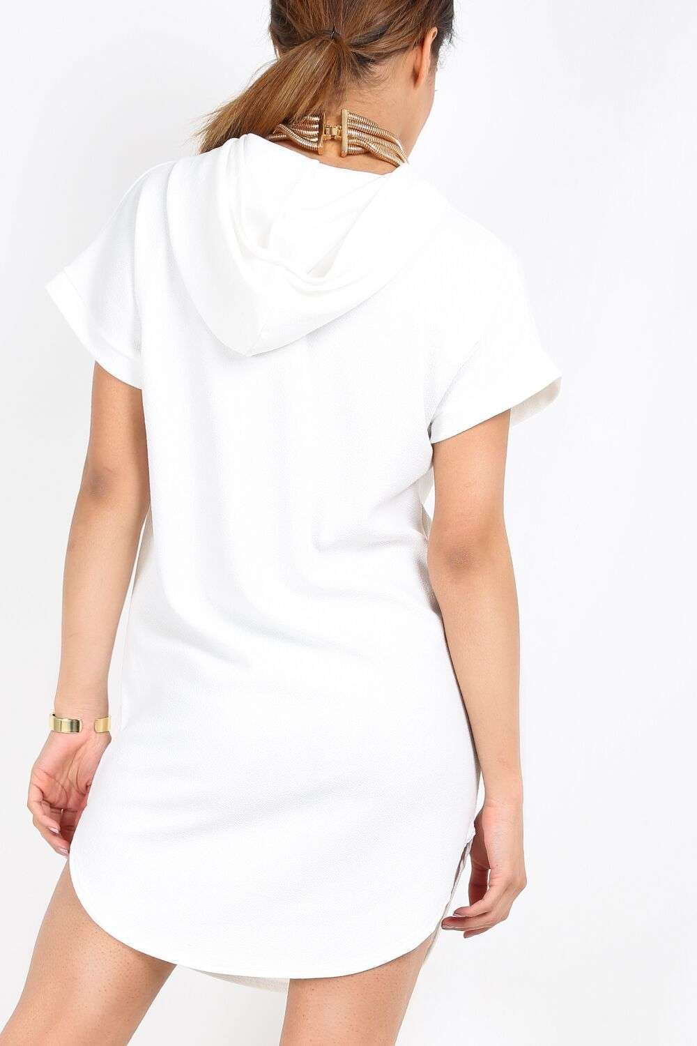 Prisca Hooded Sweater Dress - bejealous-com
