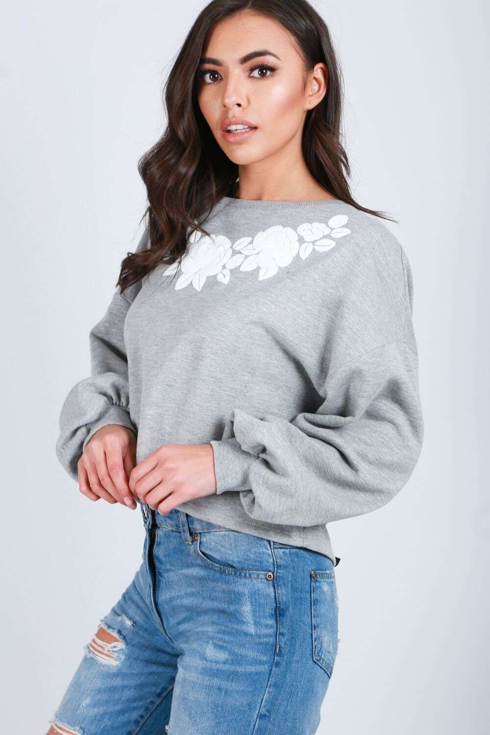 Ruby Cropped Sweatshirt - bejealous-com