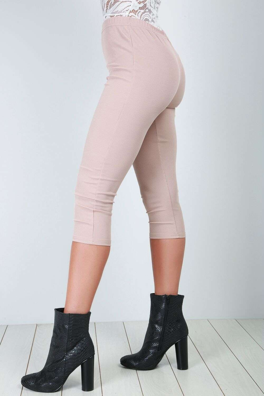 Sophie Cropped Jersey Leggings - bejealous-com