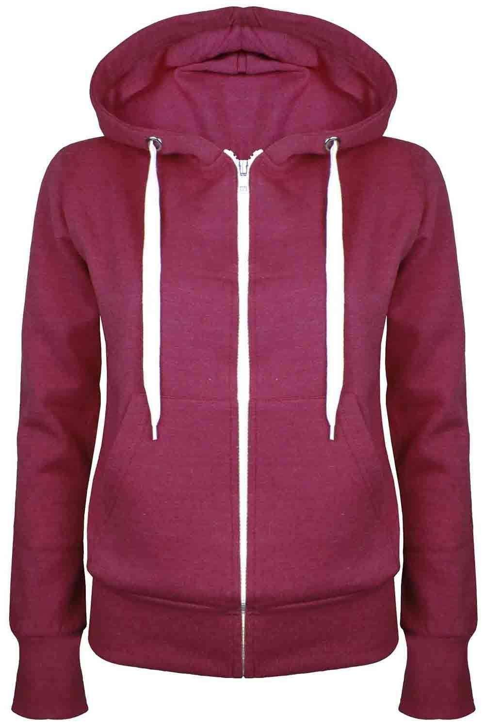 Zara Fleece Lined Zip Up Hoodie - bejealous-com