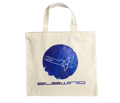 Cotton beach bag with Subwing logo