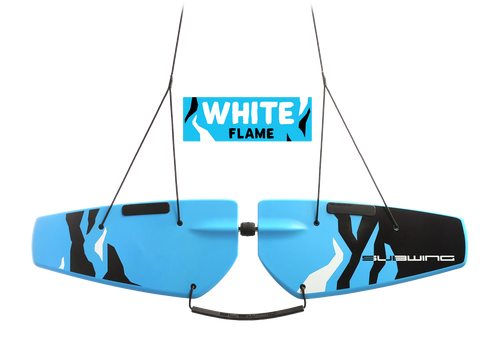 Towable Underwater Surfing Deck Subwing White Flame Picture