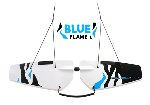 Towable Underwater Surfing Deck Subwing Blue Flame Picture